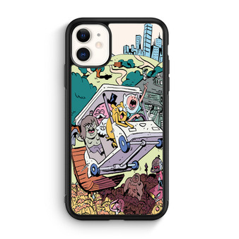 Adventure Time And Regular Show Comic iPhone 11/11 Pro/11 Pro Max Case