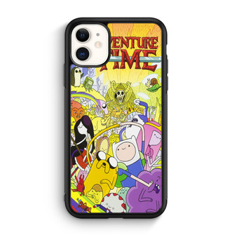 Adventure Time Cartoon Poster iPhone 11/11 Pro/11 Pro Max Case