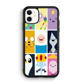 Adventure Time Character Faces iPhone 11/11 Pro/11 Pro Max Case