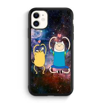 Adventure Time Finn And Jake Love Sign Space iPhone 11/11 Pro/11 Pro Max Case