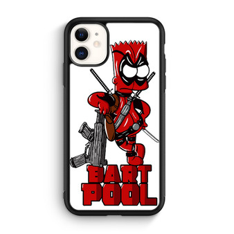 Bart Simpson Bart Pool iPhone 11/11 Pro/11 Pro Max Case