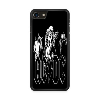 ACDC Band Members Vector iPhone 8/ 8 Plus Case
