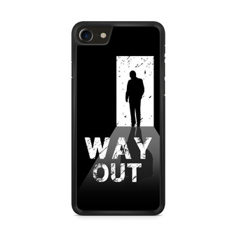 Way Out Escape Game Poster iPhone 8/ 8 Plus Case
