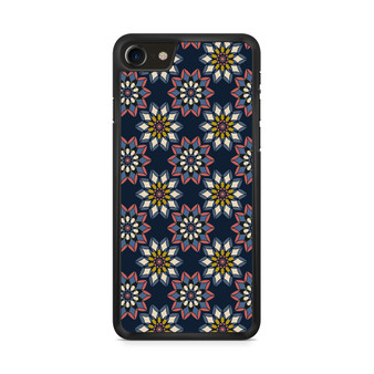 Abstract Flowers Patterns iPhone 8/ 8 Plus Case