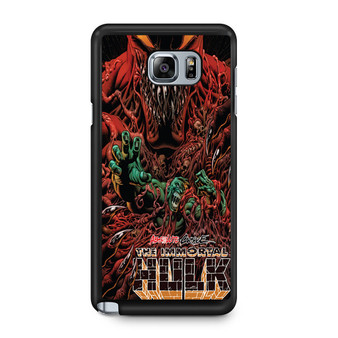 Absolute Carnage The Immortal Hulk Samsung Galaxy Note 5 Case