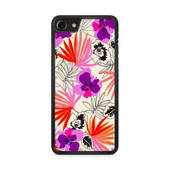 Abstract Leaf Pattern iPhone 8/ 8 Plus Case