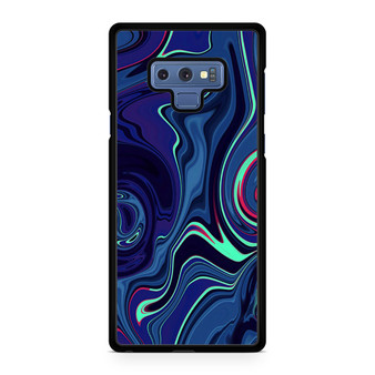 Abstract Color Paint Blue Samsung Galaxy Note 9 Case