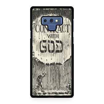 A Contract With God Book Samsung Galaxy Note 9 Case
