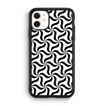 Seamless Monochrome Abstract Triangle Pattern iPhone 11/11 Pro/11 Pro Max Case
