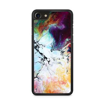 Abstract Color Painting iPhone 8/ 8 Plus Case