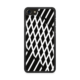 Abstract Line Black And White iPhone 8/ 8 Plus Case