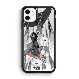 Adventure Time Fan Art Black And White iPhone 11/11 Pro/11 Pro Max Case