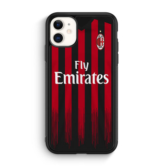 AC Milan Jersey iPhone 11/11 Pro/11 Pro Max Case