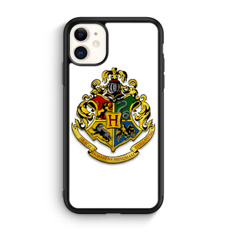 Harry Potter Hogwarts Logo White iPhone 11/11 Pro/11 Pro Max Case