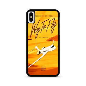 A Boogie Wit Da Hoodie Feat Davido Way Too Fly iPhone X/ XS/ XS Max Case