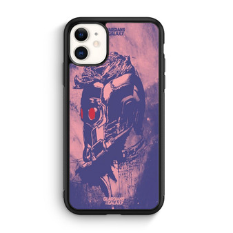 Star Lord Guardians Of The Galaxy Retro Poster iPhone 11/11 Pro/11 Pro Max Case