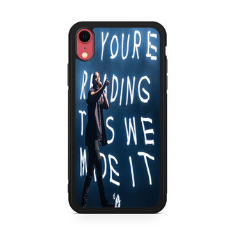 Drake At The Austin City Music Festival iPhone XR Case