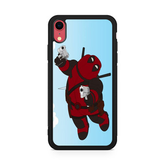 Family Guy Peter Becomes Deadpool iPhone XR Case