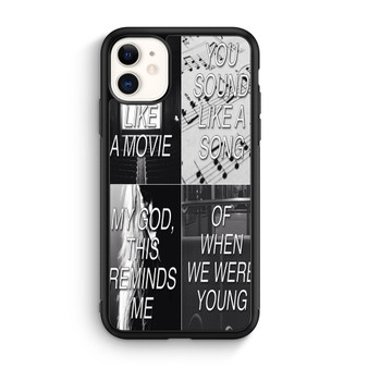 Adele When We Were Young iPhone 11/11 Pro/11 Pro Max Case