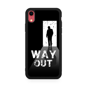 Way Out Escape Game Poster iPhone XR Case