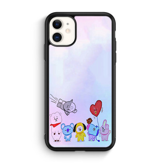 BTS BT21 Character iPhone 11/11 Pro/11 Pro Max Case