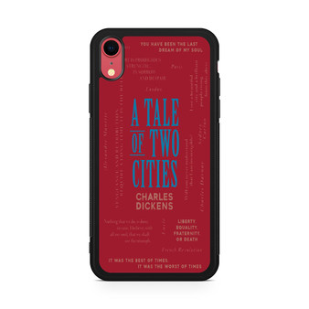 A Tale Of Two Cities By Charles Dickens iPhone XR Case