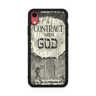 A Contract With God Book iPhone XR Case