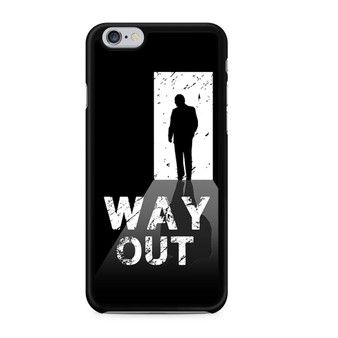 Way Out Escape Game Poster iPhone 6/6 Plus Case