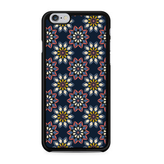 Abstract Flowers Patterns iPhone 6/6 Plus Case