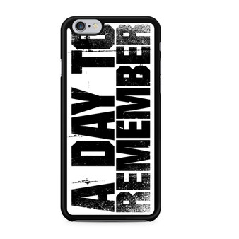 A Day To Remember iPhone 6/6 Plus Case