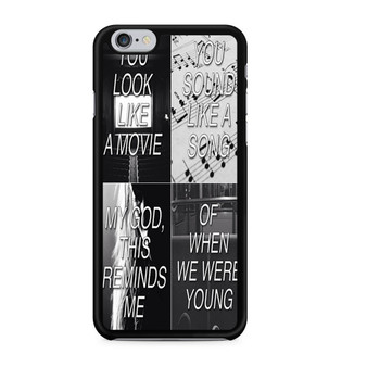 Adele When We Were Young iPhone 6/6 Plus Case