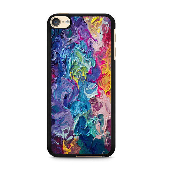 Abstract Color Painting iPod Touch 6 Case