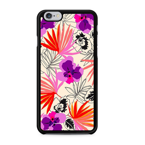 Abstract Leaf Pattern iPhone 6/6 Plus Case