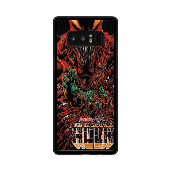 Absolute Carnage The Immortal Hulk Samsung Galaxy Note 8 Case