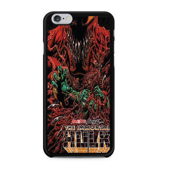Absolute Carnage The Immortal Hulk iPhone 6/6 Plus Case