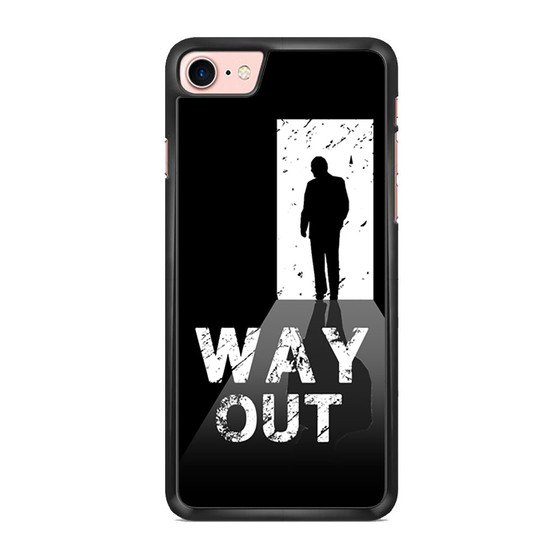 Way Out Escape Game Poster iPhone 7/ 7 Plus Case