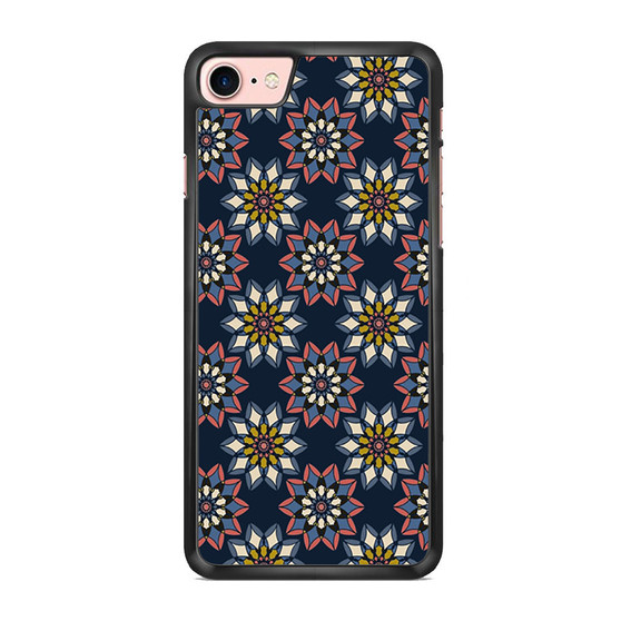 Abstract Flowers Patterns iPhone 7/ 7 Plus Case