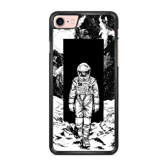 A Space Odyssey 2001 Drawing iPhone 7/ 7 Plus Case