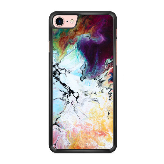 Abstract Color Painting iPhone 7/ 7 Plus Case