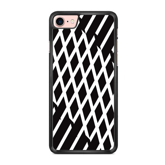 Abstract Line Black And White iPhone 7/ 7 Plus Case