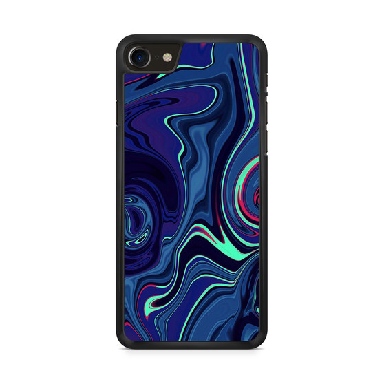 Abstract Color Paint Blue iPhone 8/ 8 Plus Case
