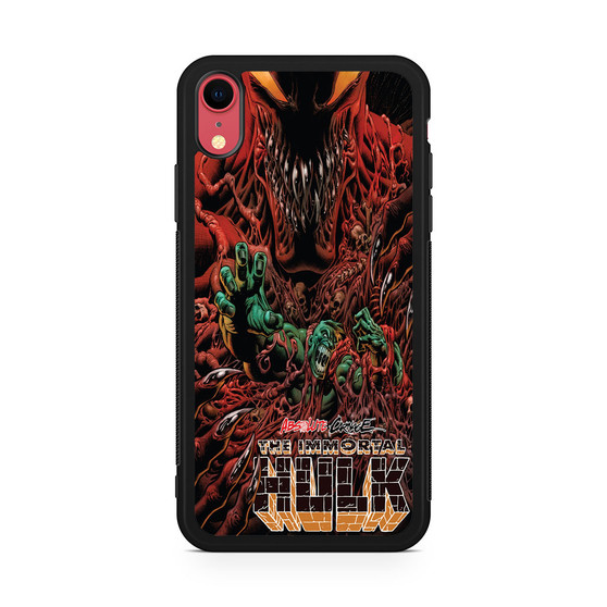 Absolute Carnage The Immortal Hulk iPhone XR Case