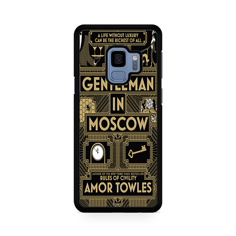 A Gentleman In Moscow Samsung Galaxy S9/S9 Plus Case