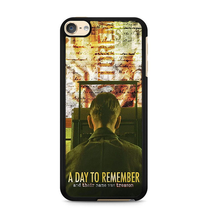 A Day To Remember Discografia iPod Touch 6 Case