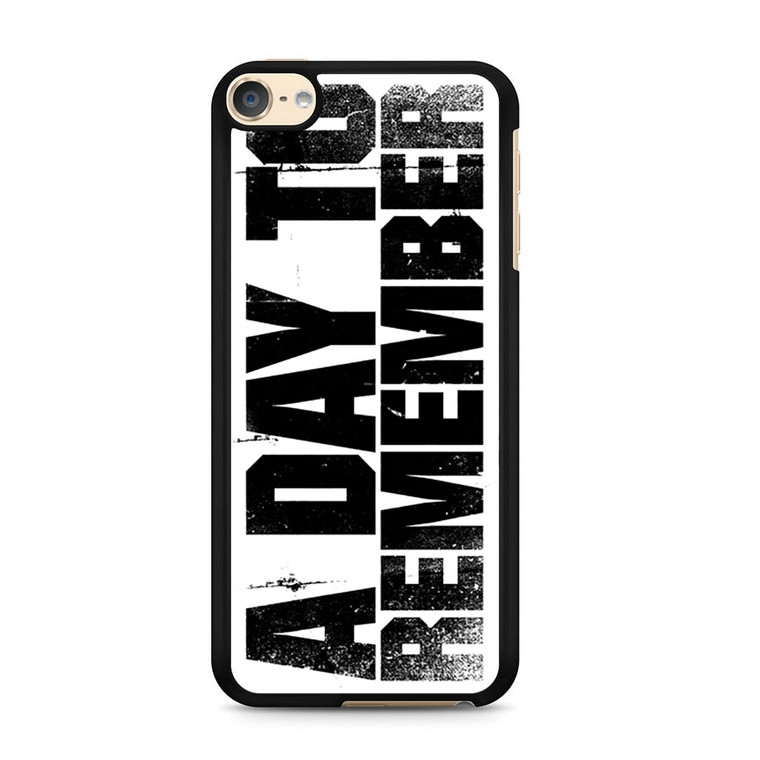 A Day To Remember iPod Touch 6 Case