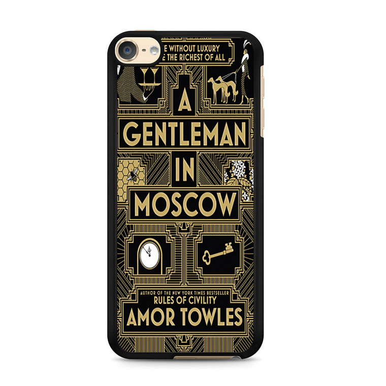 A Gentleman In Moscow iPod Touch 6 Case