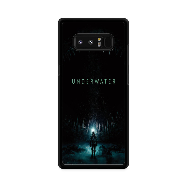Underwater Movie Poster Samsung Galaxy Note 8 Case