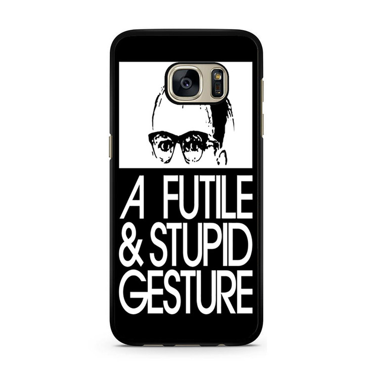 A Futile And Stupid Gesture Movie Samsung Galaxy S7/S7 Edge Case