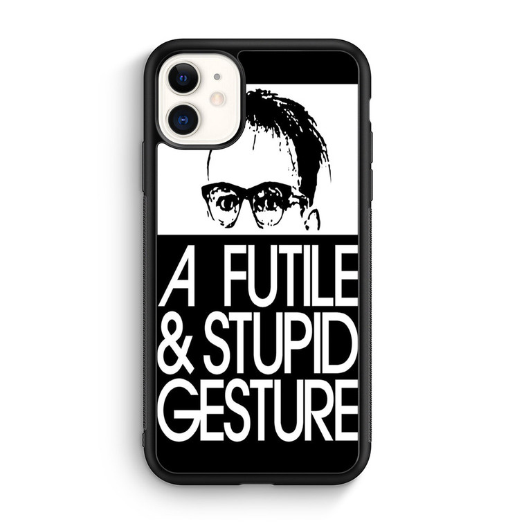 A Futile And Stupid Gesture Movie iPhone 11/11 Pro/11 Pro Max Case