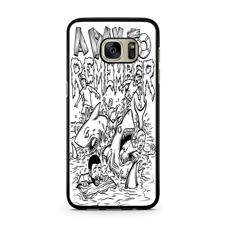 A Day To Remember Shark Week Samsung Galaxy S7/S7 Edge Case